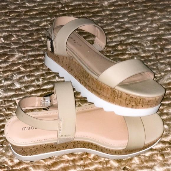 Madden Girl Shoes | Nude Sweet Platform